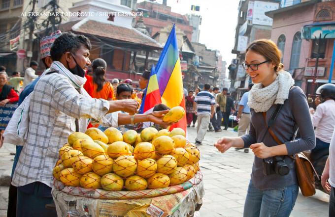 turista in Nepal