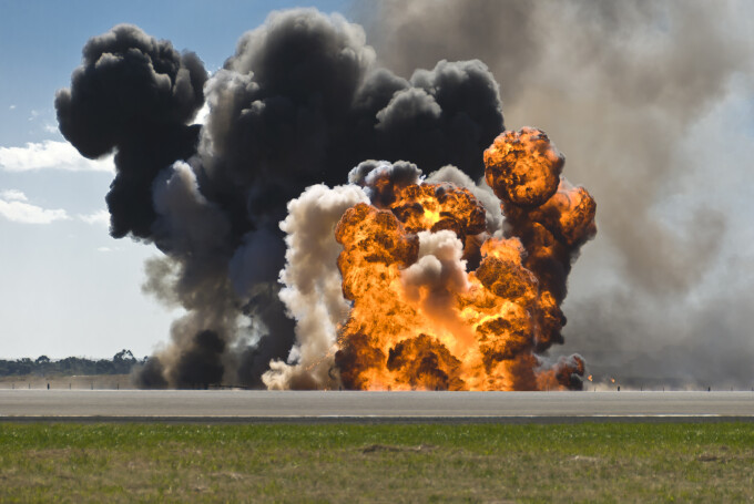 explozie Shutterstock