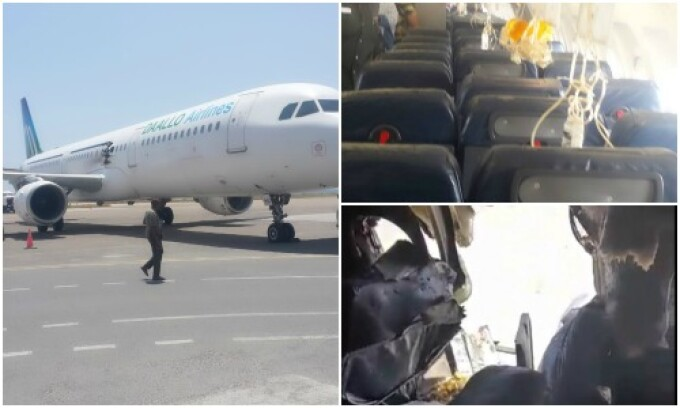 explozie avion Somalia