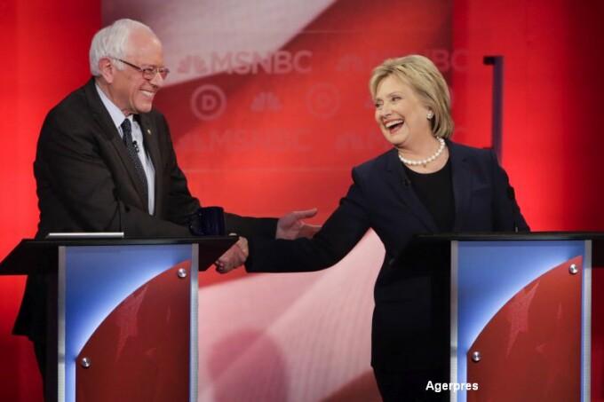 Bernie Sanders si Hillary Clinton