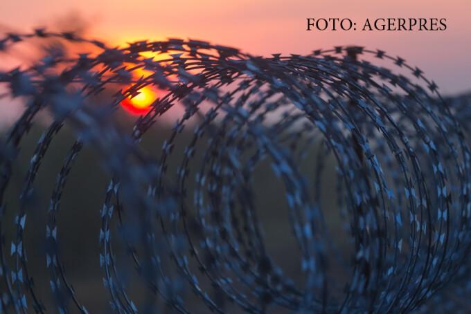 gard de sarma ghimpata intre Ungaria si Serbia