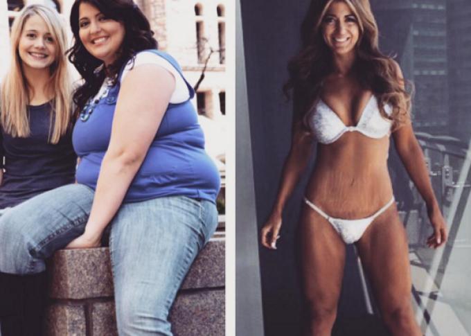 slabire femela obeză