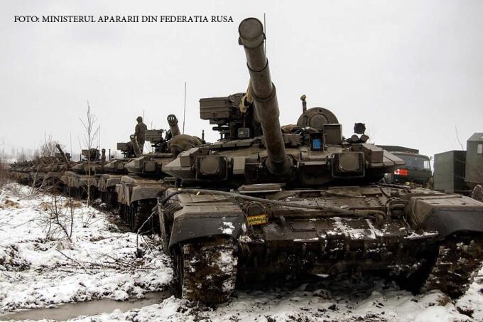tancuri rusesti pe zapada