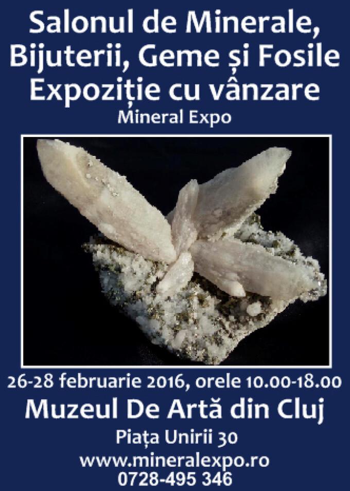 Mineral Expo Cluj. Un martisor altfel din cuart si rubin la Muzeul de Arta din Cluj