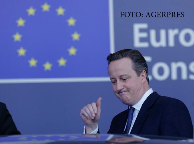 David Cameron, negocieri Brexit