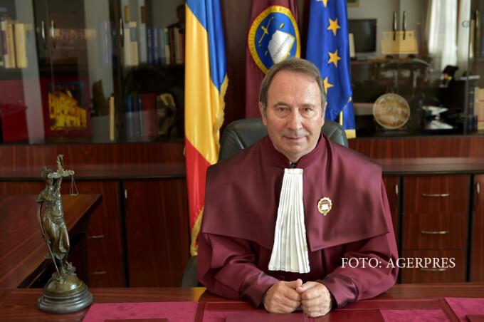 Valer Dorneanu, presedintele Curtii Constitutionale a Romaniei (CCR).