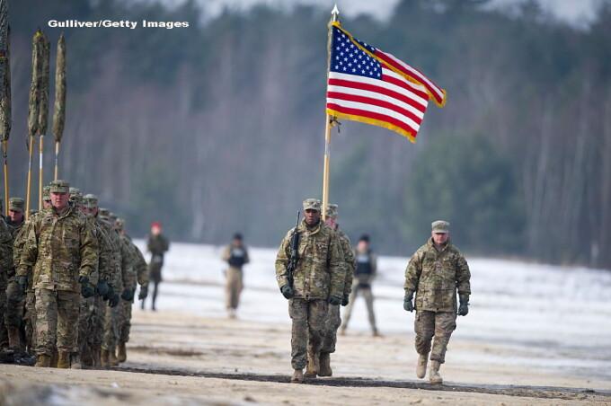 soldati americani in Polonia GETTY