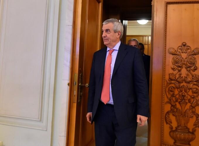 Calin Popescu-Tariceanu, presedintele Senatului
