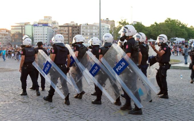 Poliţia turcă