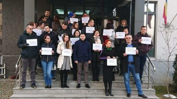 protest procurori brasov
