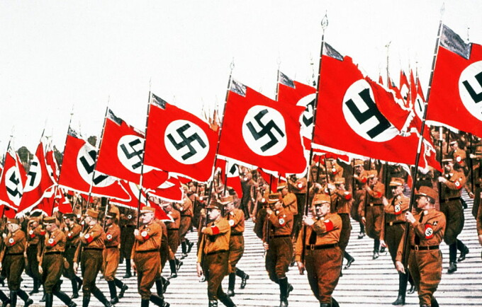 adunare nazista in 1934