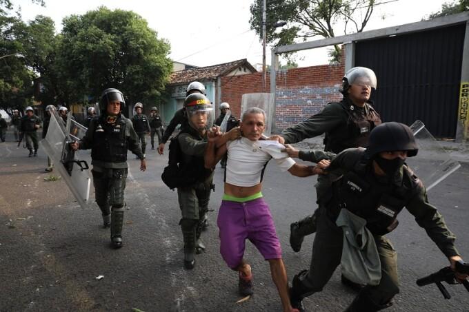 arestari Venezuela
