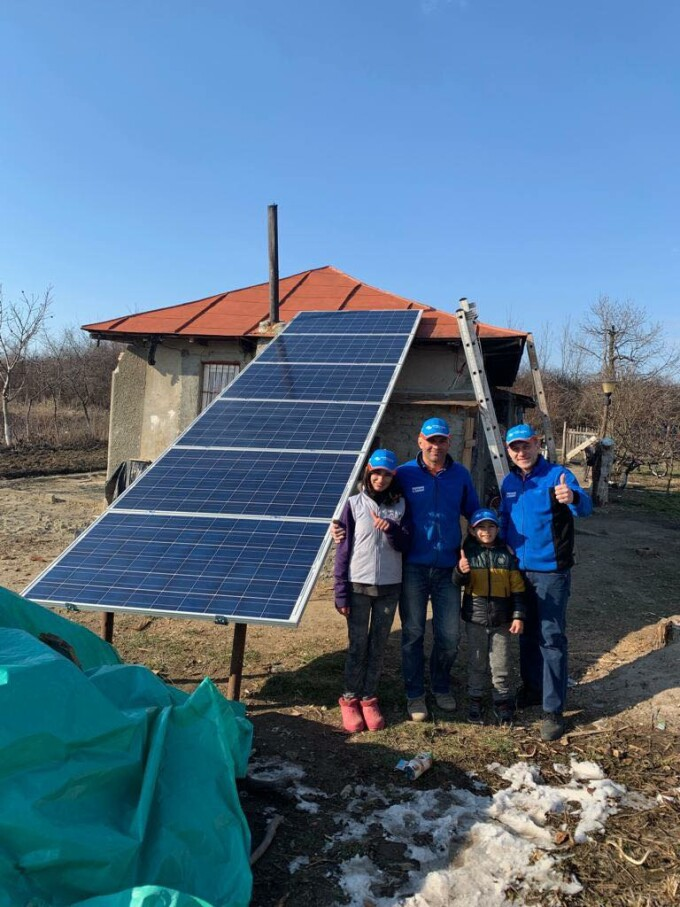 Adrian, caz umanitar, energie regenerabila, ajutor, familei