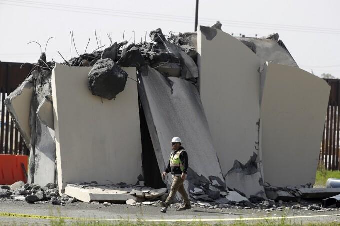 demolare zid Trump