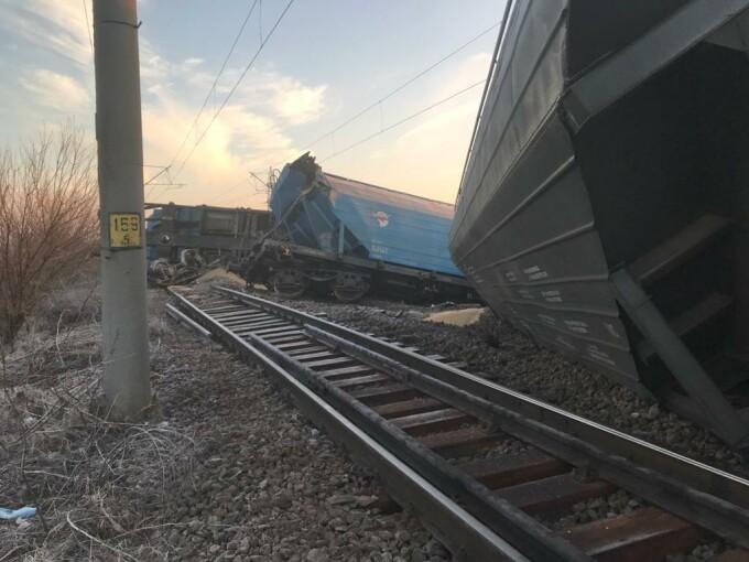 Tren deraiat în judeţul Olt