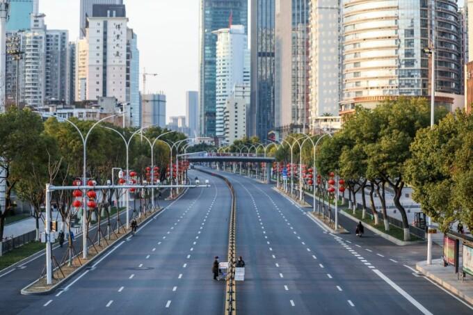 Metropola Wuhan a devenit un oraș fantomă din cauza epidemiei de coronavirus