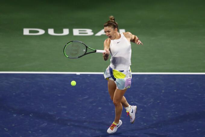 Simona Halep - Jennifer Brady, WTA Dubai