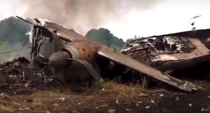 Avion prăbușit în Nigeria