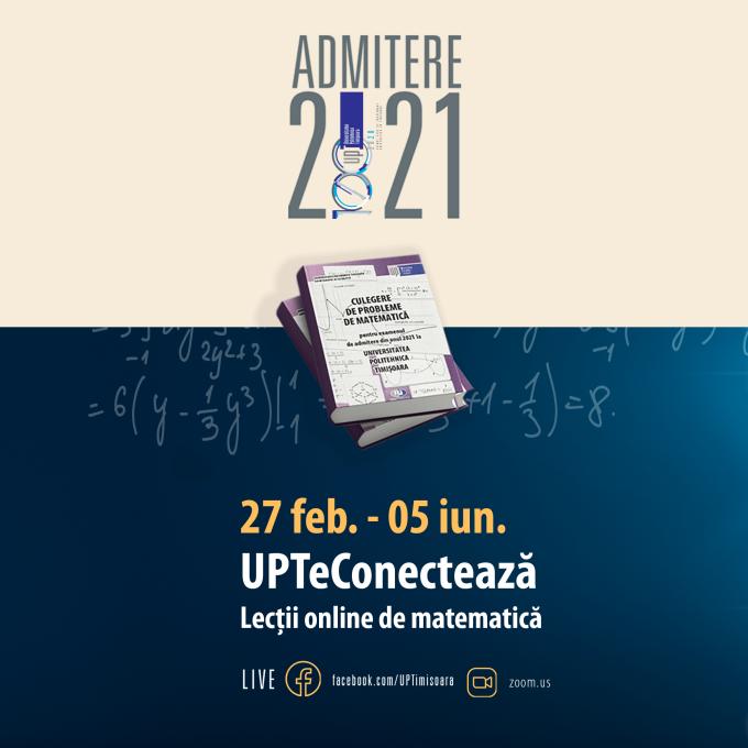 Universitatea Politehnica din Timișoara oferă meditații gratuite pentru liceenii care dau examen de bacalaureat și admitere