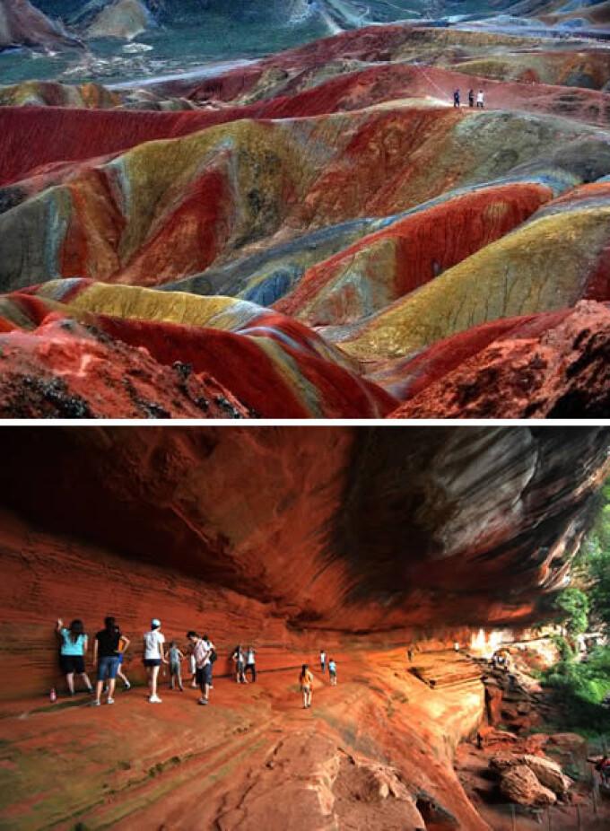FORMATIUNEA GEOLOGICA DANXIA – CHINA