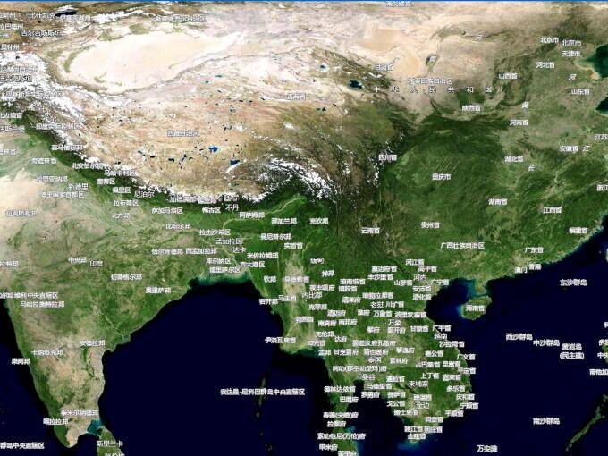 Map World Varianta Chinezeasca A Google Earth Descifreaza Cine