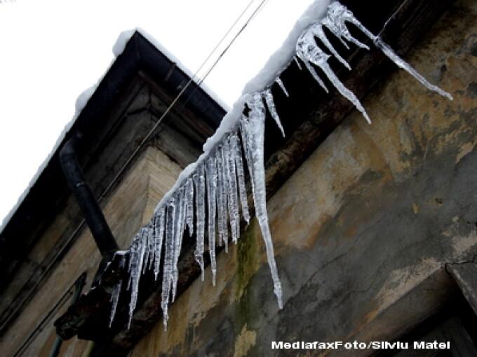 Temperaturi scazute in Romania