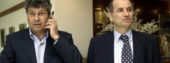 Mircea Lucescu, George Copos