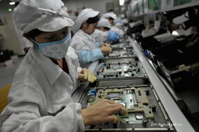 fabrica Foxconn, Apple, China