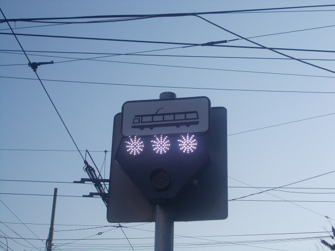semafor tramvai
