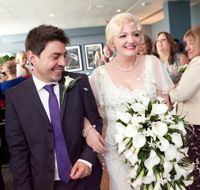 nunta, Gemma si Luke