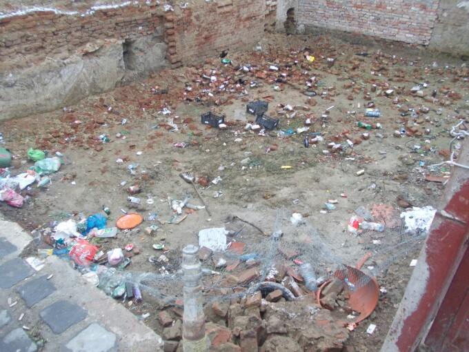 casa, groapa de gunoi