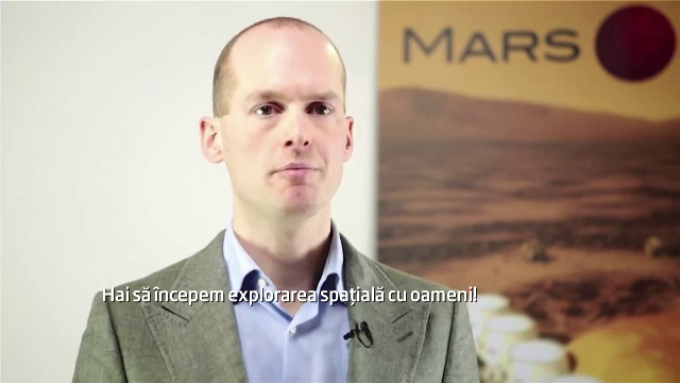 Bas Lansdorp, CEO-ul Mars One