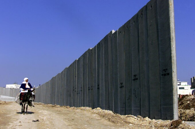 israel palestina zid