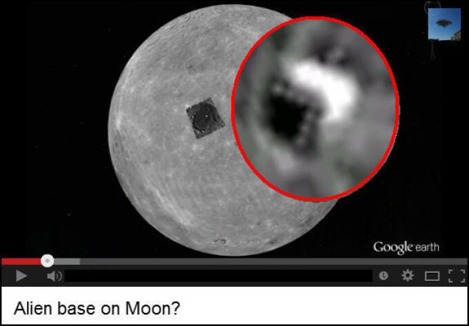 Forma misterioasa pe Luna