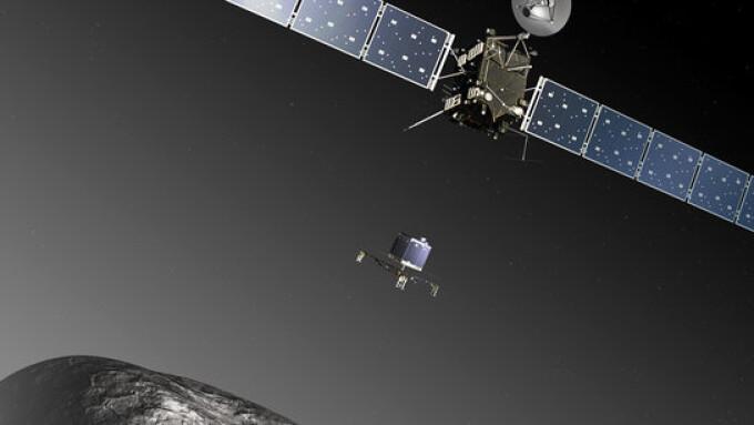 Sonda Rosetta si robotul Philae