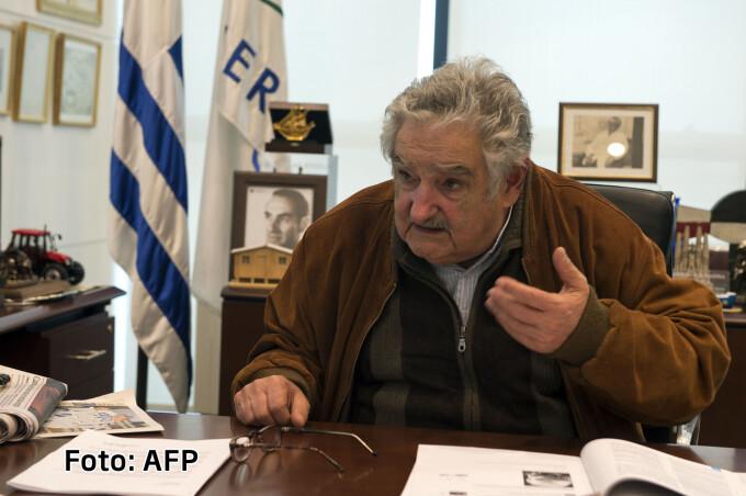 Jose Mujica presedintele Uruguayului