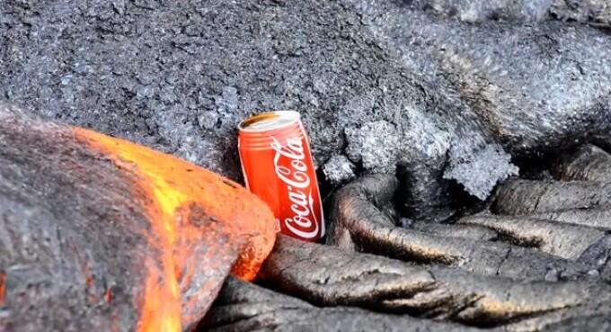 coca cola lava