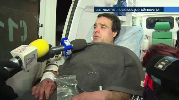 Un cabanier a fost atacat de urs