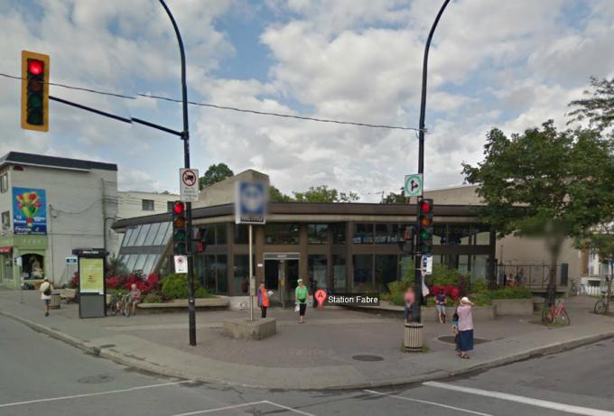 Statia de metrou Fabre, Montreal