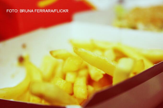 cartofi prajiti de la McDonald