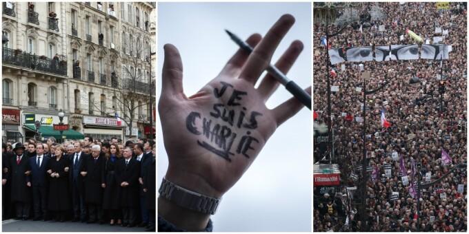 marsul solidaritatii Paris, cover