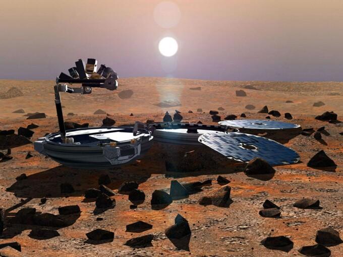 Beagle 2, Marte