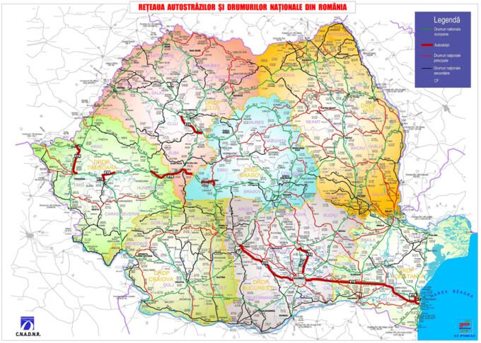 Romania Are In Premiera O Harta A Calitatii Drumurilor Este