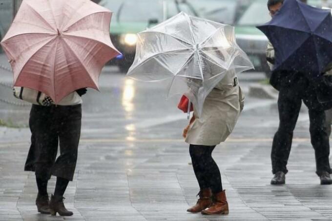 vant si ploaie