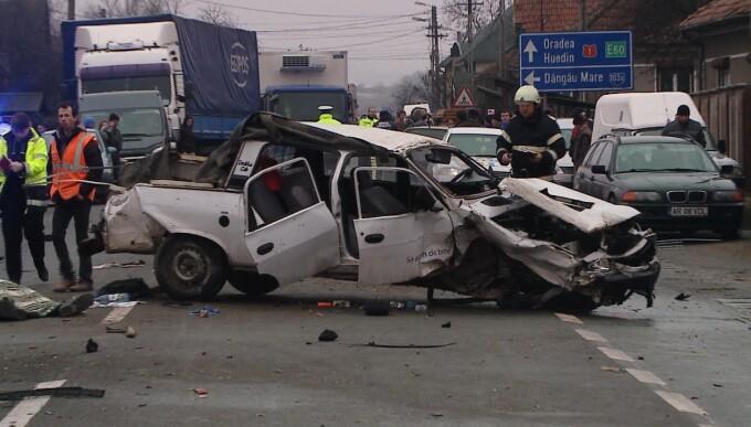 Inconstienta unui politist clujean care a urcat beat la volan a avut consecinte grave
