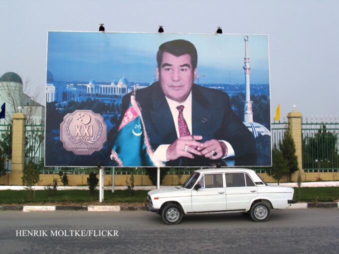 masina alba in Turkmenistan