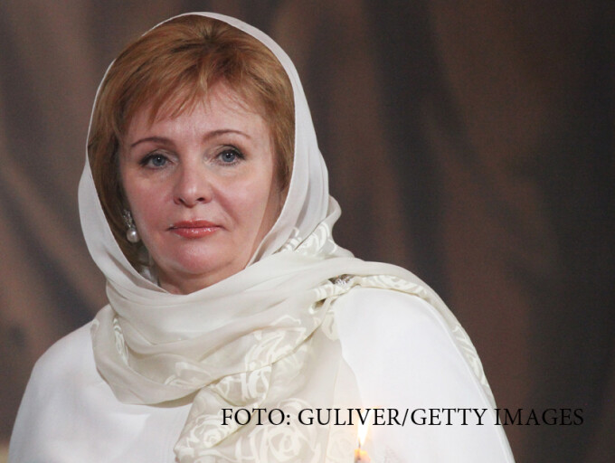 Liudmila Putina, fosta sotie a lui Vladimir Putin