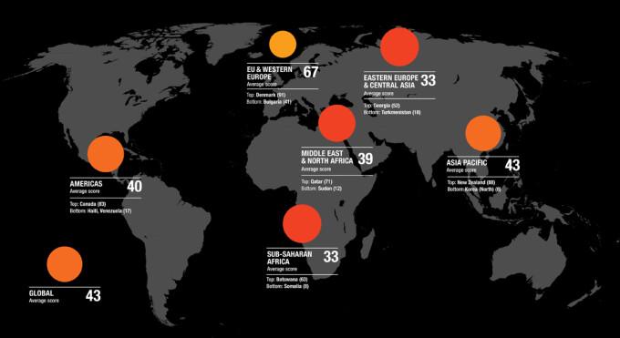 Locul Romaniei Pe Harta Mondiala A Coruptiei Una Dintre Marile