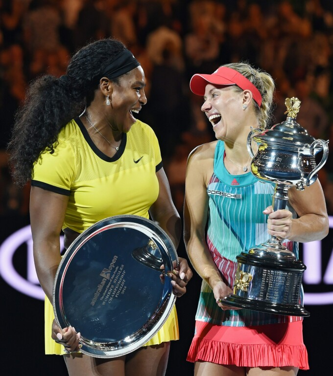 Angelique Kerber si Serena Williams