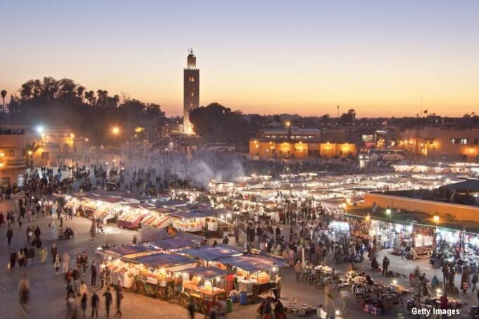 Omul in cautarea femeii Marrakech